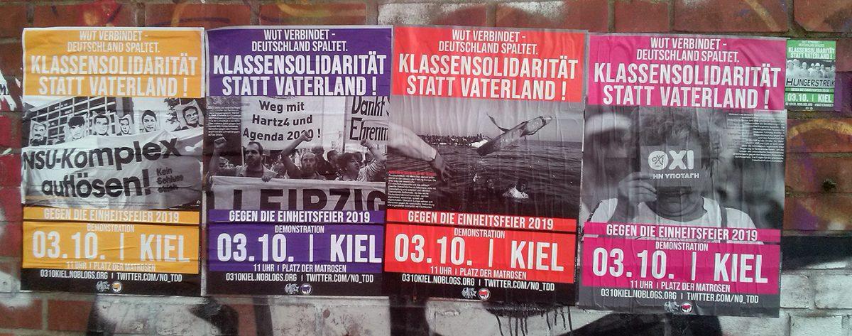 """""""Tag der Deutschen Einheit"""" in Kiel bleibt nicht unwidersprochen"""